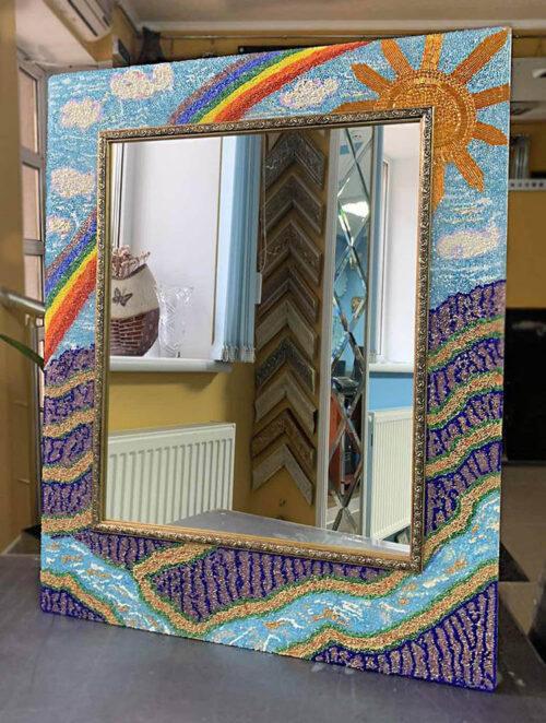 Зеркало Лавандовое поле